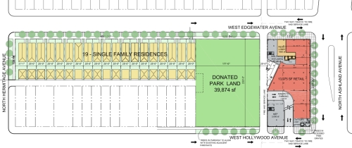 6th Feb. 2013 Proposal for Redevelopment of Edgewater Medical Center Site